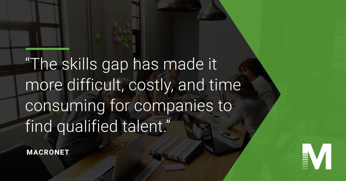 impact of skills gap on secaas